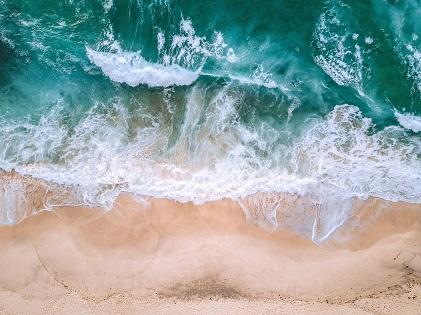 beach water wave