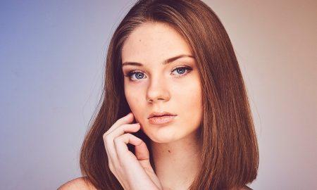 woman beautiful face